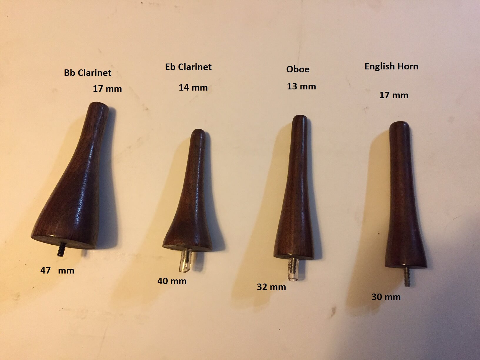 Clarinet/Oboe/English Horn Pegs